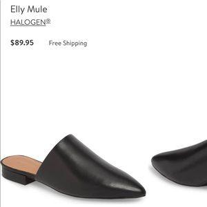 Halogen Elly Mule Sz 7